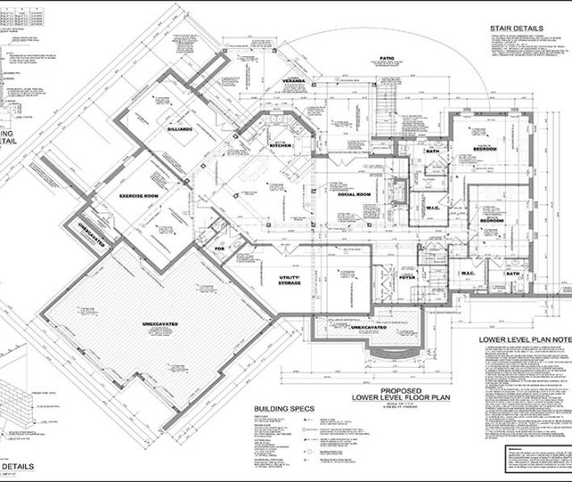large house floor plan