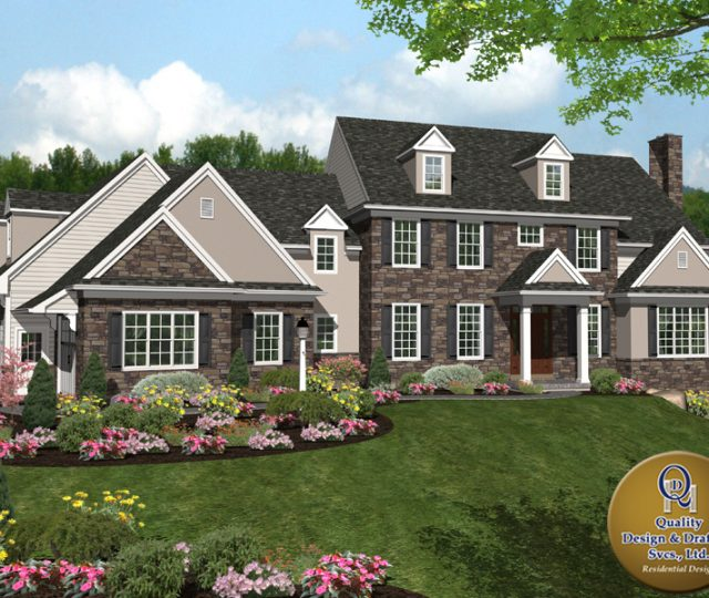luxury home addition drafts