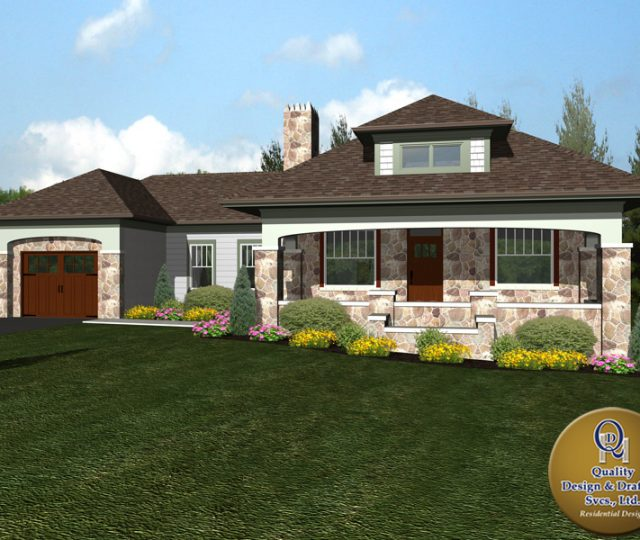 Revised Custom Home Plan
