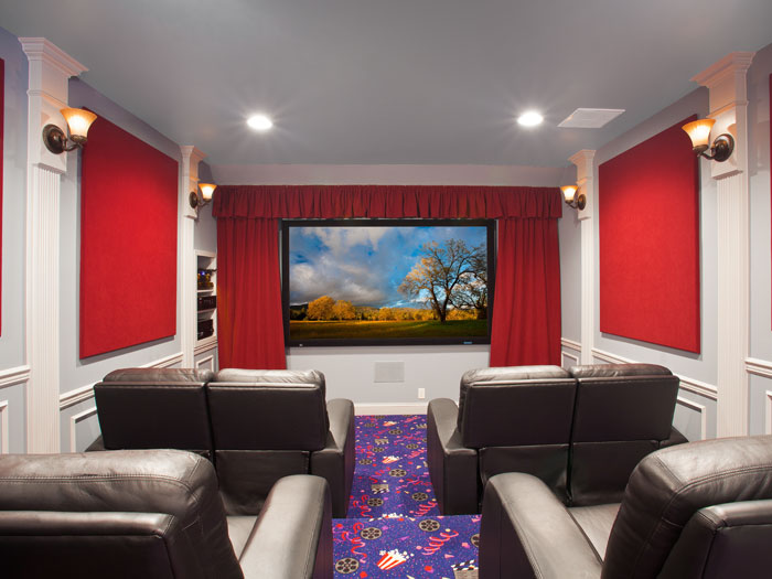 Theatre Room in York County